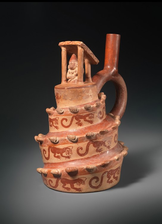 Unrecorded Moche Artist, Peru. Architectural Vessel. A.D. 400-600. Ceramic The Metropolitan Museum of Art, Gift of Nathan Cummings, 1963
