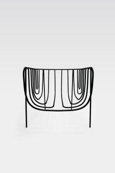 Nendo, chair, thin black lines series, 2010. Foto: Masayuki Hayashi