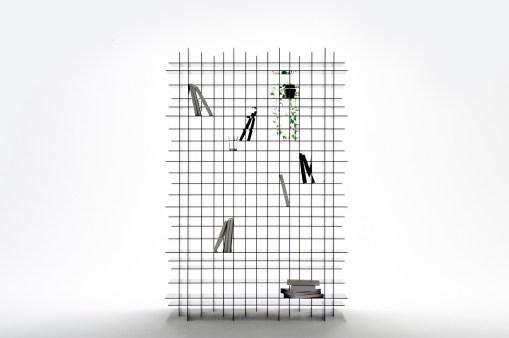 Nendo, Scatter Shelf, 2011, Friedman Benda. Foto: Masayuki Hayashi