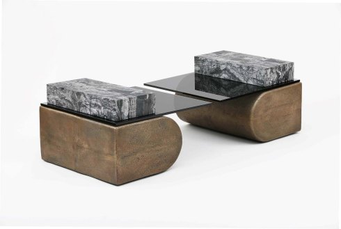 Cantilever Table by Brian Thoreen, 2017, courtesy of Clemens Kois for Patrick Parrish Gallery