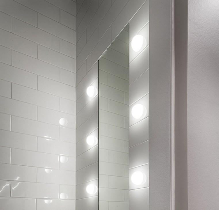 Iluminar el baño