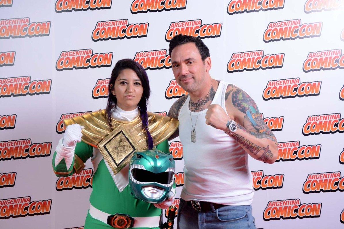 Jason David Frank. Foto: Gentileza Argentina Comic-Con