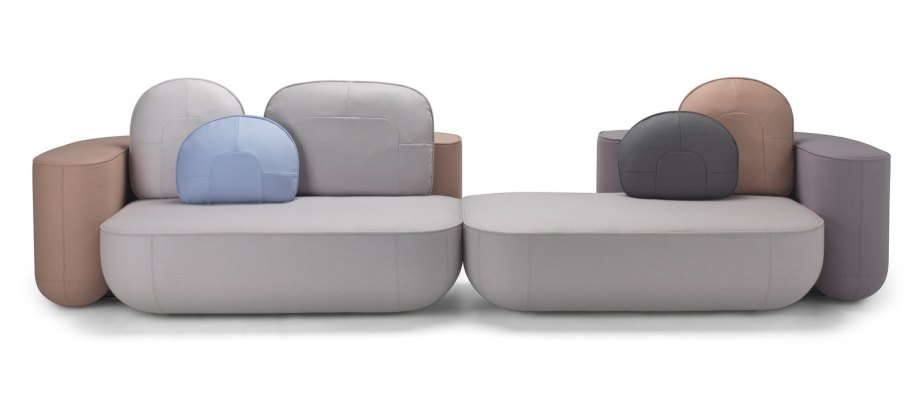 Okome Sofa by Nendo - Alias