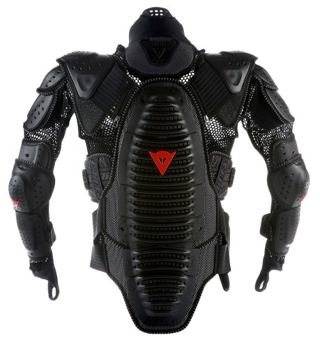 Marc Sadler. Dainese Back Protector. Wave + Safety Jacket