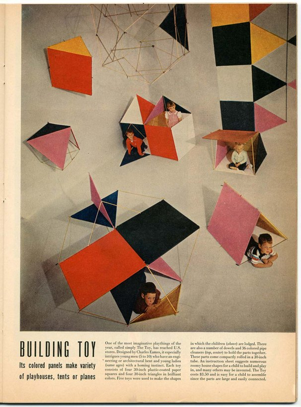 Feature of »The Toy« in »Life« magazine, July 16, 1951