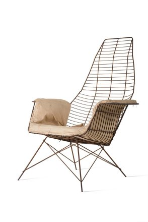 Experimental Wire Armchair, 1951 © Vitra Design Museum, Photo: Jürgen Hans