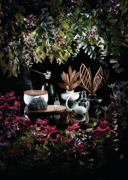 Las Cinco Estaciones de Marcel Wanders para Alessi Home Fragrances