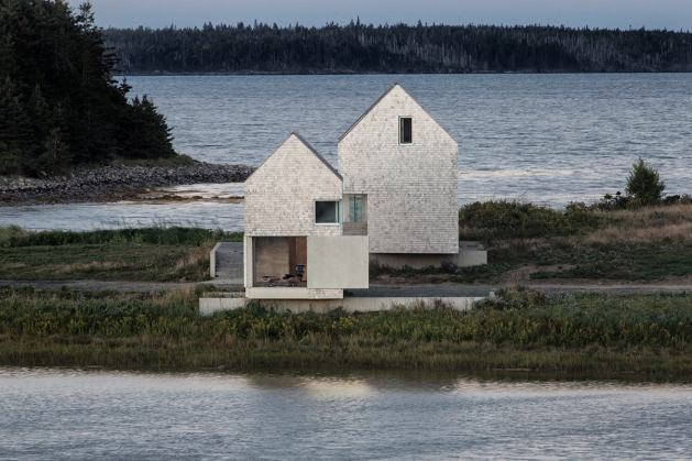 Point House by MacKay-Lyons Sweetapple. Foto: William Green