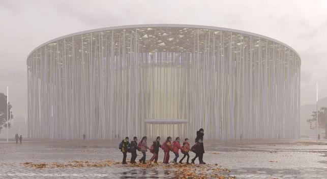 Teatro Show Wuxi TAIHU. Foto: SCA | Steven Chilton Architects