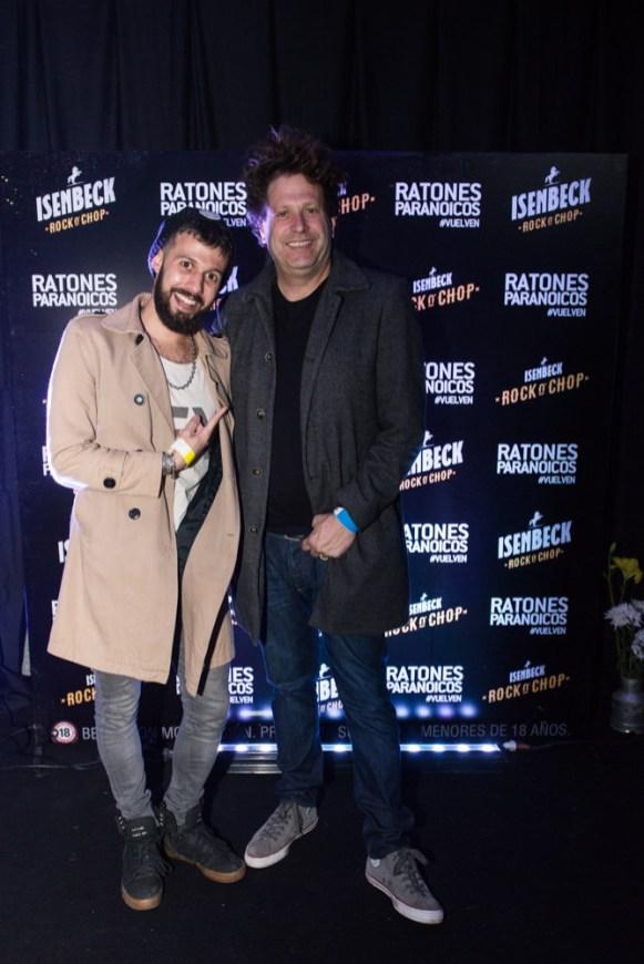 Eddie Fitte y Bebe Contepomi en el Rock N' Chop - Ratones Paranoicos - Créditos Catriel Remedi (2)