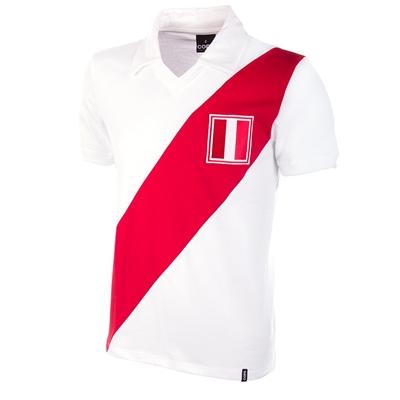 Peru retro voetbalshirt 1970's