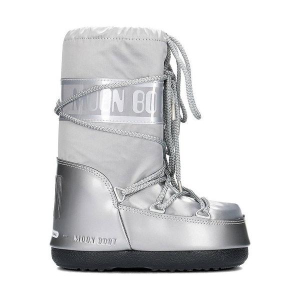 MoonBoot Glance snowboots dames zilver