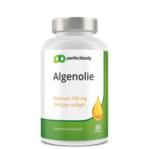Perfectbody Algenolie DHA Capsules - 60 Softgels