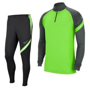 Nike Dry Academy Pro Trainingspak Groen Grijs