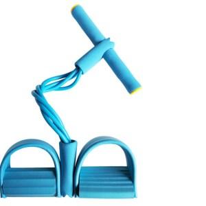Fitness apparaat met weerstandsbanden Blauw