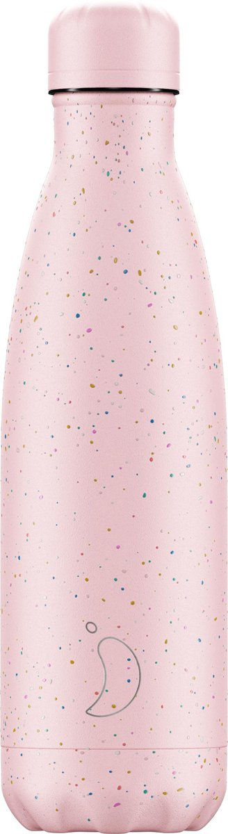 Chilly's Bottle Drinkfles - Speckled Pink - Thermosfles