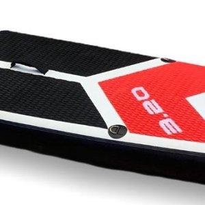 Relaxwonen Sup 320cm versie Premium | Opblaasbare Paddle Board (SUP-board) | Stevige kwaliteit | 150KG maximale belasting| Zwart