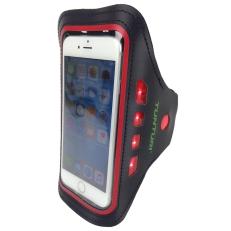 Tunturi Led Telephone Sport Armband Red Stuk