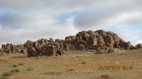 These are granite formations .. protected by the Govt now