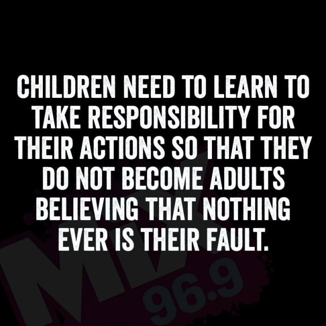 children - responsibility