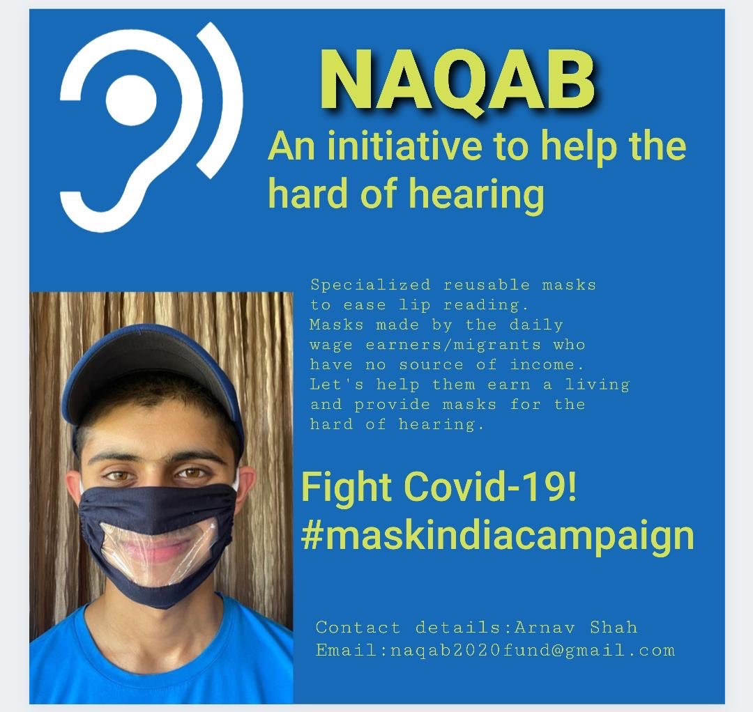Face Mask for the hearing impaired