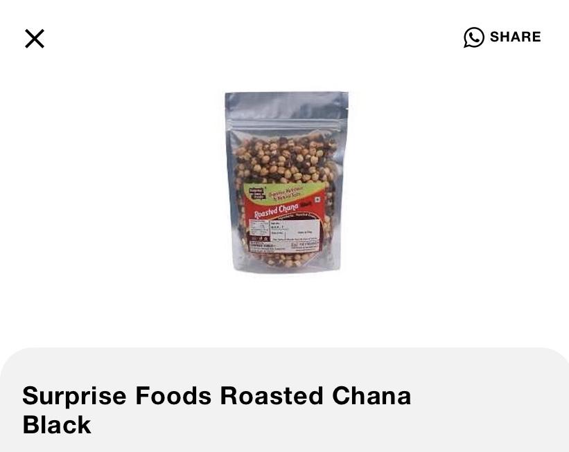 Surprise Roasted Chana