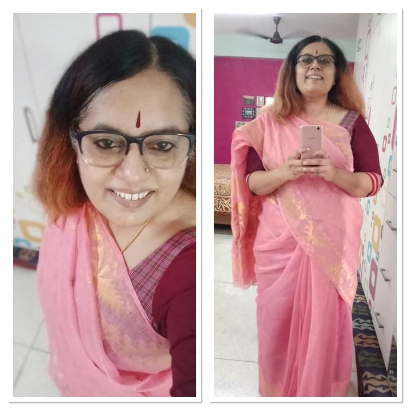 Jamdani - Pink