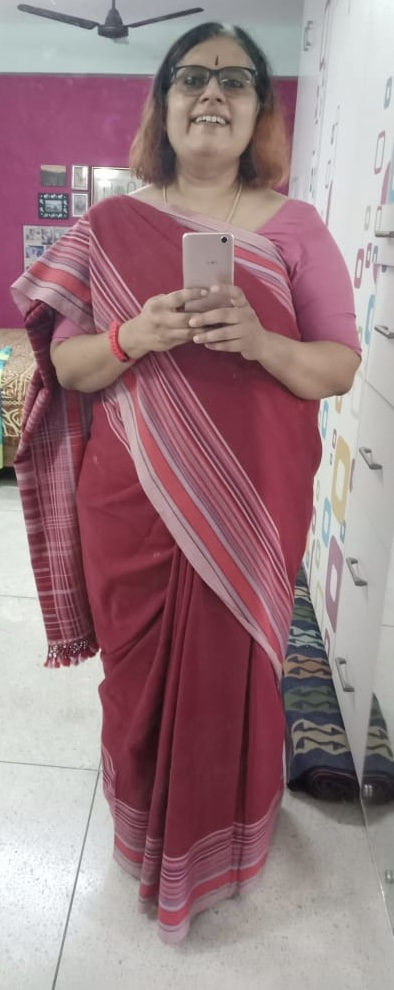 Cotton Bhujodi Saree