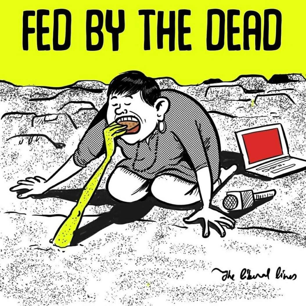 Fed by the dead Bengal