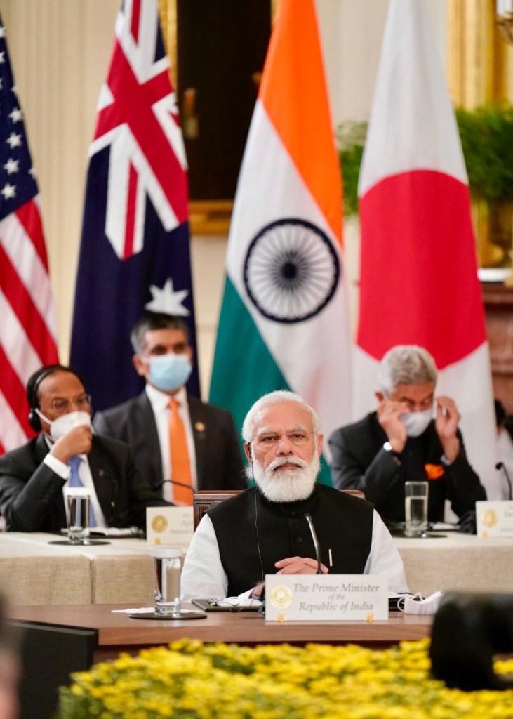 PM Modi - Quad