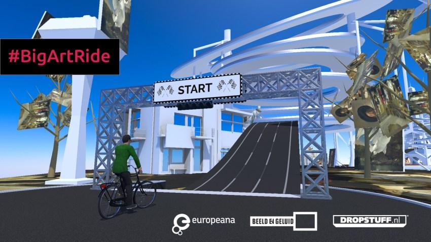 BIgArtRide - wirtualna wycieczka po mieście