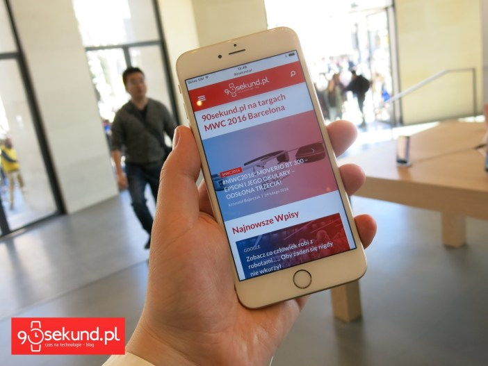 Apple iPhone 6S - 90sekund.pl