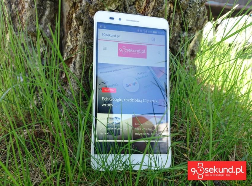 Huawei Honor 5X - recenzja na 90sekund.pl