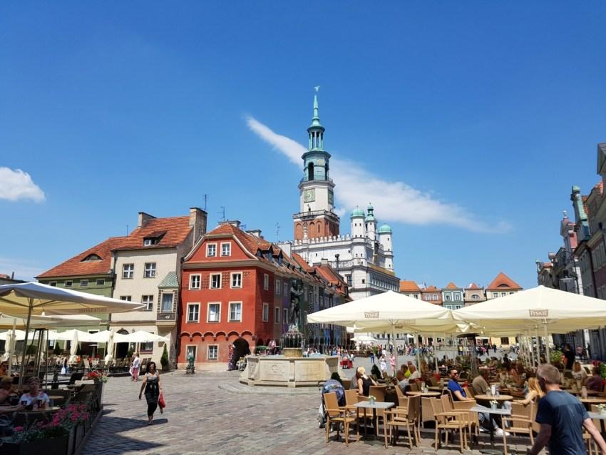 Stary Rynek w Poznaniu - zdjęcie wykonane Samsungiem Galaxy S7 - 90sekund.pl