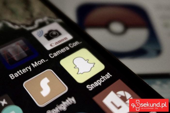 Pokemon GO i Snapchat - 90sekund.pl