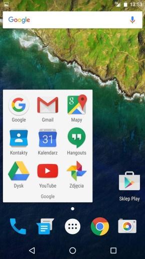Huawei Nexus 6P - aplikacje Google - recenzja 90sekund.pl