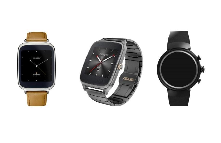 Od lewej: Asus Zenwatch 1-gen., Zenwatch 2-gen., i spodziewany Zenwatch 3-gen. - 90sekund.pl