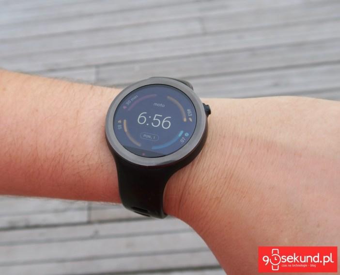 Lenovo Moto 360 Sport (239F) - recenzja 90sekund.pl
