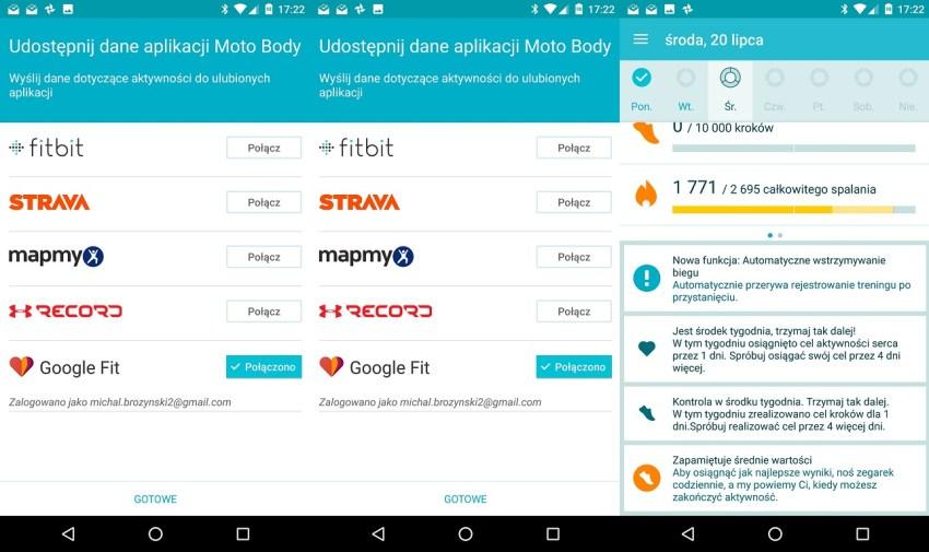 Moto Body na Lenovo Moto 360 Sport - recenzja 90sekund.pl