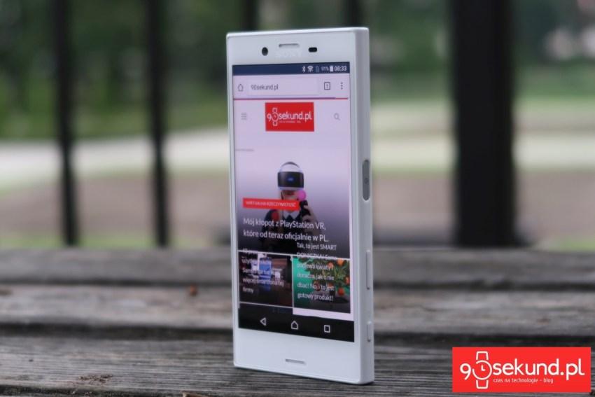 Sony Xperia X Compact F5321 - recenzja 90sekund.pl