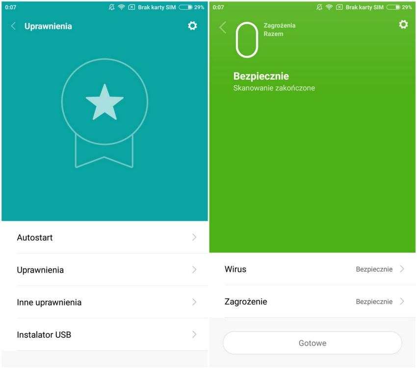 Xiaomi Mi5 - Panel Sterowania - recenzja 90sekund.pl