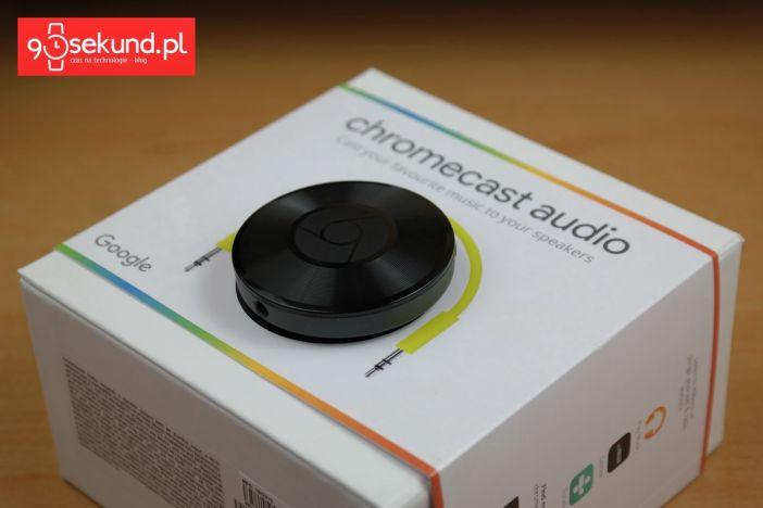 Google Chromecas Audio - recenzja 90sekund.pl