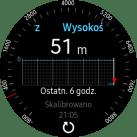 Tizen OS na Samsungu Gear S3 - wygląd sekcji na prawo od tarczy - 90sekund.pl