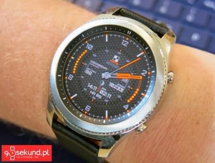 Tarcza podświetlona w pełnym kolorze - Samsung Gear S3 Classic (SM-R770) - 90sekund.pl