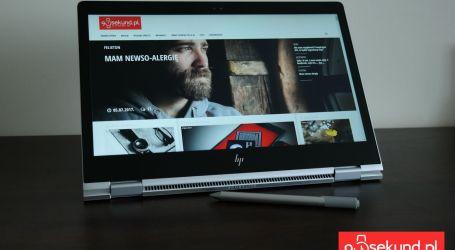 Test, recenzja, opinia – HP EliteBook x360 1030 G2 – Piękny i wydajny zawodnik klasy biznes
