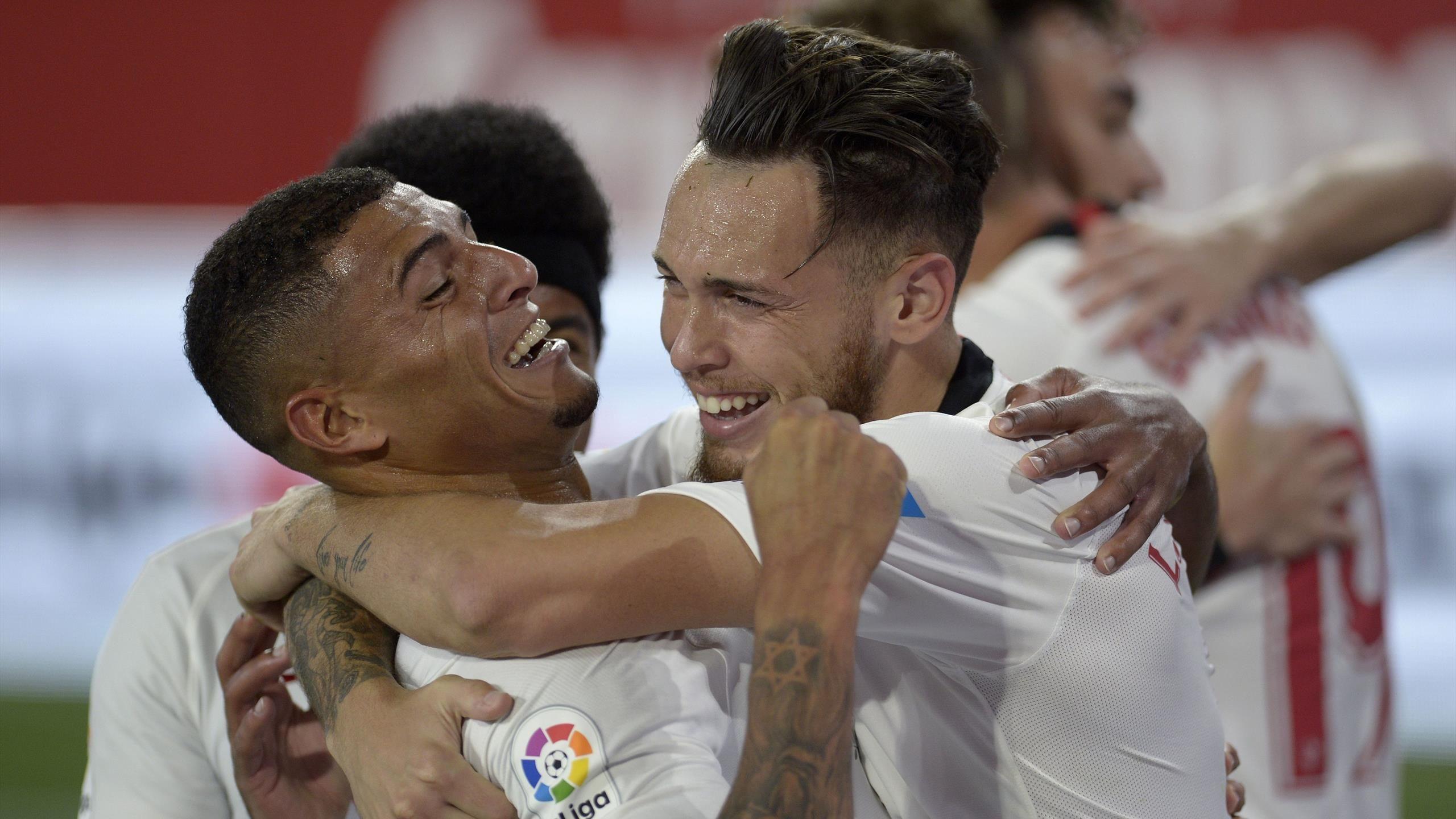 Sevilla Take Derby Spoils On La Liga's Return