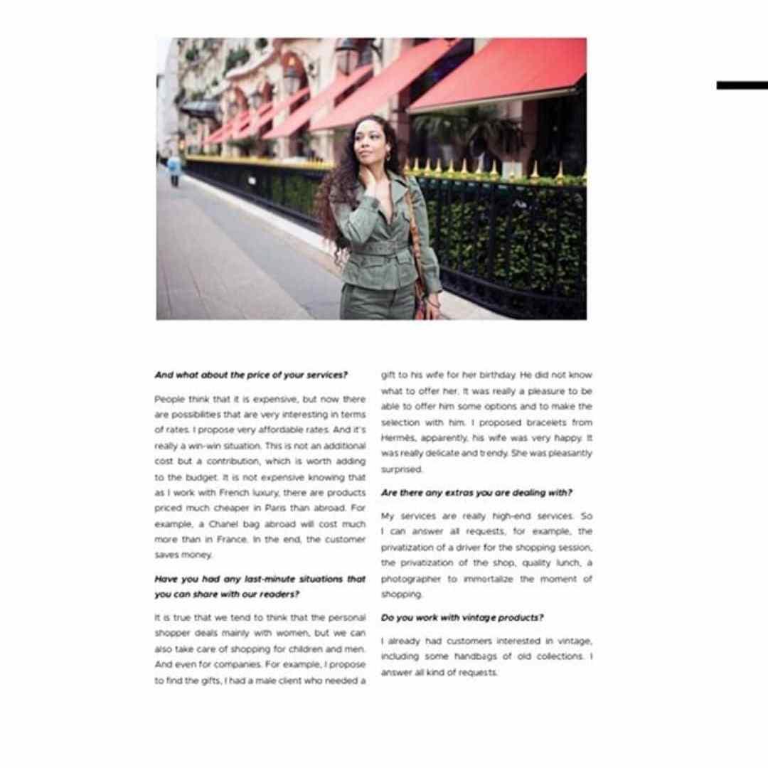 Paris Personal Shopper