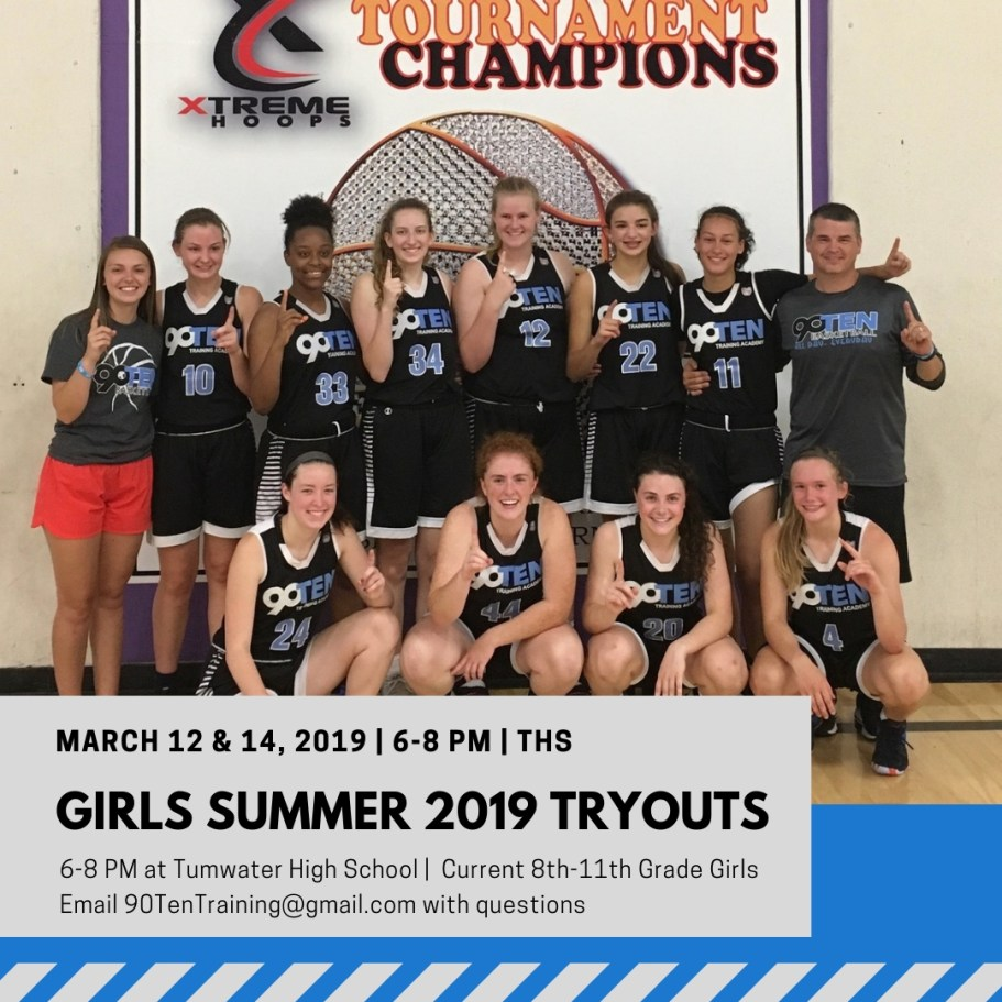 2019 HS Girls Summer Tryouts