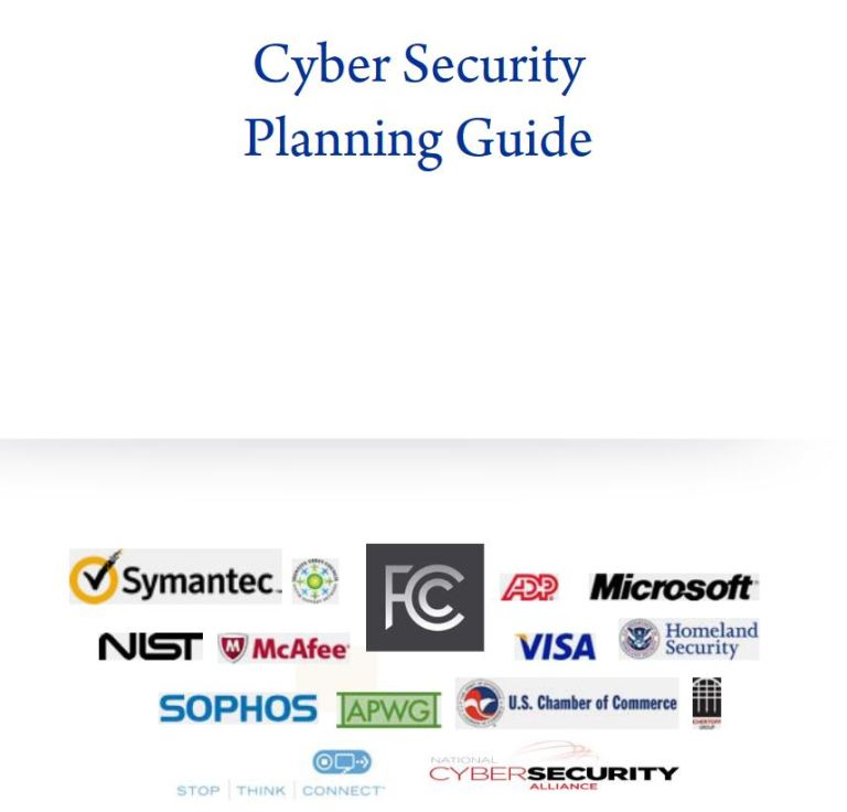Cyber Security Planning Guide by FCC and Cyber Defense Partners