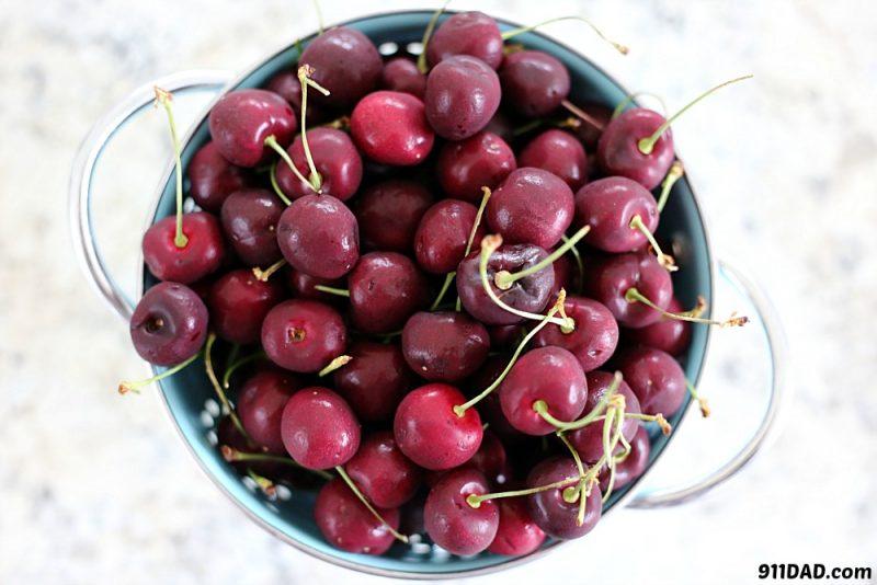bowl full of cherries